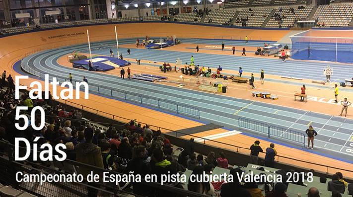Campeonato de España Valencia 2018, empieza la cuenta atrás/Campionat d'Espanya Valencia 2018, comença el compte arrere
