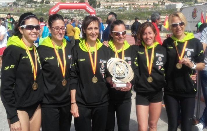 El atletismo veterano vuelve a cosechar triunfos/L'atletisme veterà torna a collir triomfs