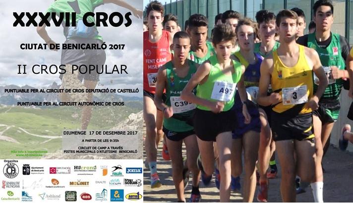 El circuito de cross llega a Benicarló/El circuit de cross arriba a Benicarló