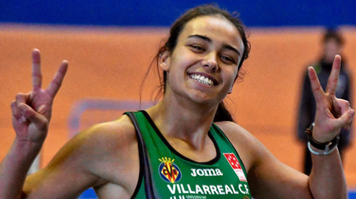 Carmen Ramos , récord de España sub20/Carmen Ramos, rècord d'Espanya sub20
