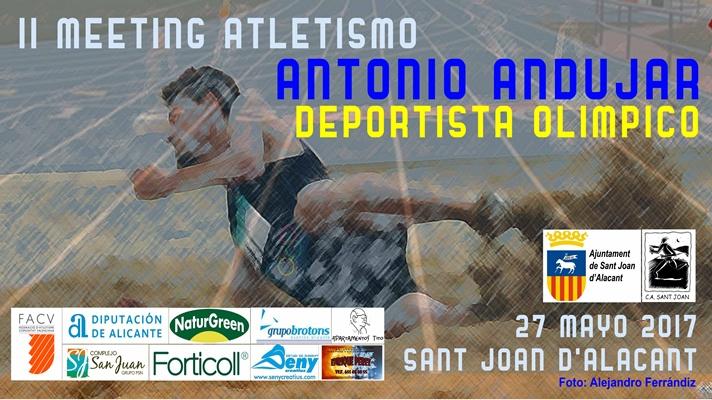 Sant Joan se prepara para el Meeting 'Antonio Andujar'/Sant Joan es prepara per al Meeting 'Antonio Andujar'