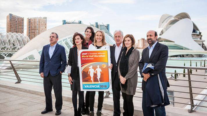 Mundial de Medio Maratón Valencia 2018, faltan 100 días/Mundial de Mitja Marató València 2018, falten 100 díes