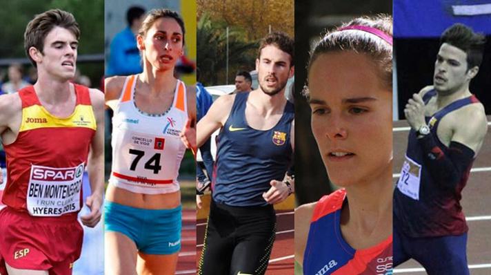 Cuatro mínimas y un récord de España/Qutre mínimes i un rècord d'Espanya