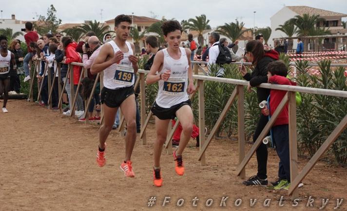 Campeones de España Sub18 en campo a través /Campions d'Espanya Sub18 en camp a través