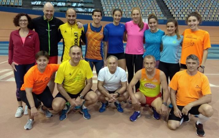 Simarro, Cortes, Torres y Paz, vencedores del tradicional pentathlon de jueces /Simarro, Cortes, Torres i Paz, vencedors del tradicional pentathlon de jutges