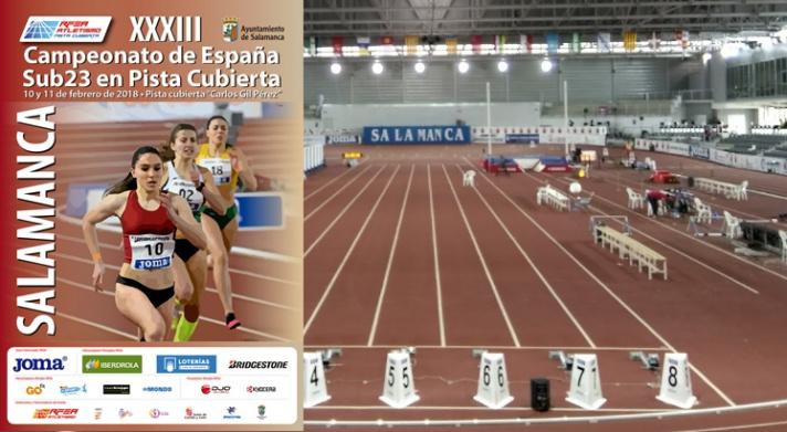 Salamanca acoge el campeonato de España Sub23 /Salamanca acull el campionat d'Espanya Sub23