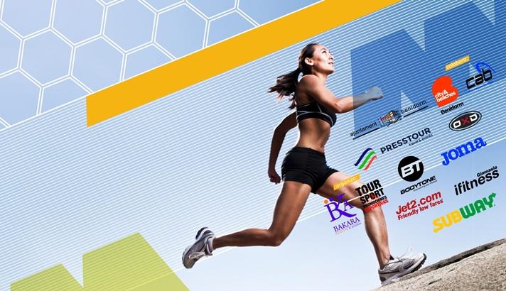 Más de 2.000 atletas correrán el Medio Maratón y 10K de Benidorm/Més de 2.000 atletes correran la Mig Marató i 10K de Benidorm