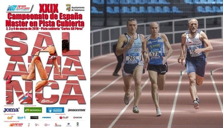 Salamanca acoge el Campeonato de España Máster bajo techo/Salamanca acull el Campionat d'Espanya Màster baix sostre