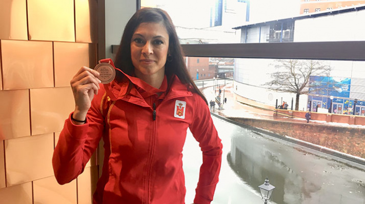 Concha Montaner ya tiene su bronce mundial/Concha Montaner ja te el seu bronze mundial