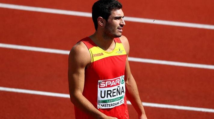 Jorge Ureña mejor marca mundial de la temporada/Jorge Ureña millor marca mundial de la temporada