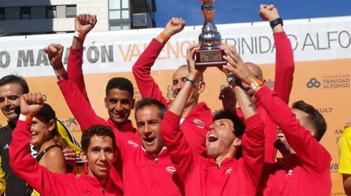 CA Cárnicas Serrano mejor club de España en ruta/CA Cárnicas Serrano millor club d'Espanya en ruta