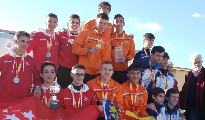 Campeones de España Sub20 en marcha en ruta/Campions d'Espanya Sub20 en marxa en ruta