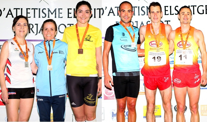 Octavio Sanchis y Ana Amaro, campeones autonómicos en 10.000m/Octavio Sanchis i Ana Amaro, campions autonòmics en 10.000m