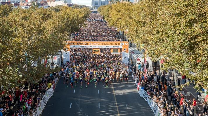Excelentes registros en el Medio Maratón de Valencia/Excel•lents registres en el Mig Marató de València
