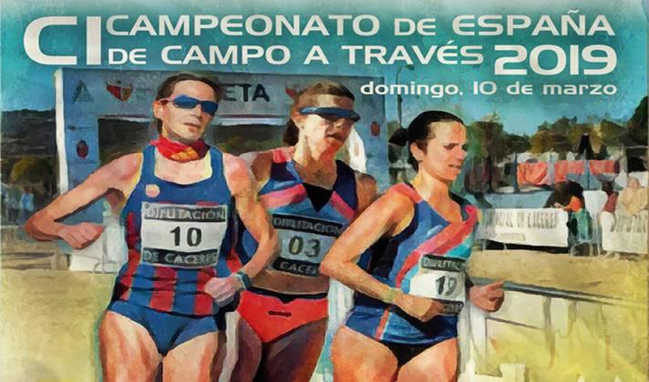 Cáceres otorga los títulos de campo a través /Càceres atorga els títols de camp a través