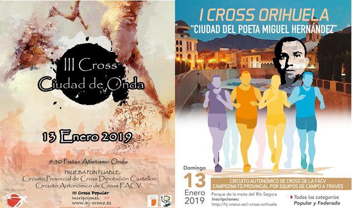 Onda y Orihuela, próximas escalas del circuito de cross/Onda i Oriola, pròximes escales del circuit de cross