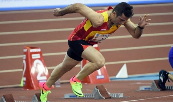 Fernando Crespo mejora la plusmarca master en 100m (11.58)/Fernando Crespo millora el rècord màster en 100m (11.58)