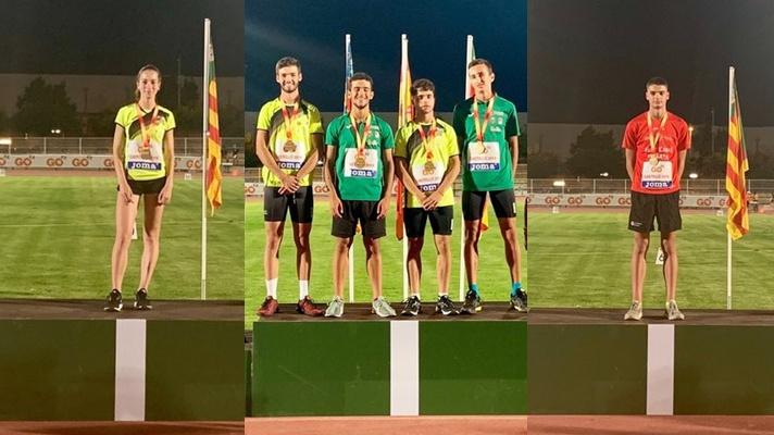 Lluvia de medallas en el nacional sub18/Pluja de medalles en el nacional sub18