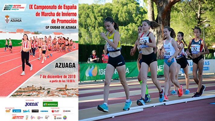 Azuaga acoge el nacional de marcha de promoción/Azuaga acull el nacional de marxa de promoció