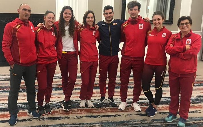 Jorge Ureña, líder mundial del año de heptathlon/Jorge Ureña, líder mundial de l'any d'heptathlon