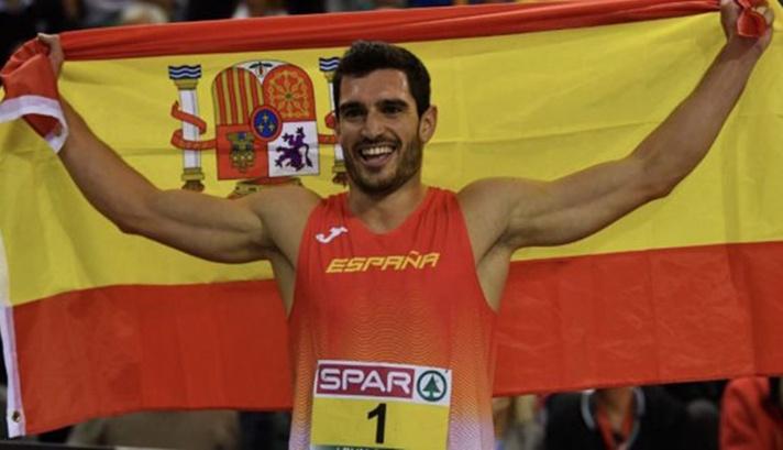 Jorge Ureña, campeón de Europa en heptathlon/Jorge Ureña, campió d'Europa en heptathlon