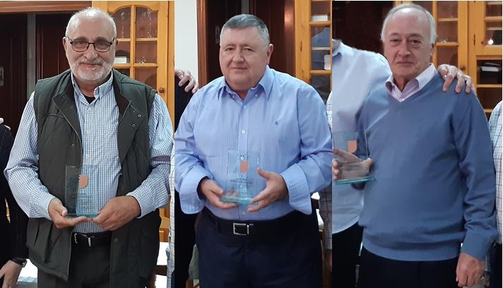 Tres jueces valencianos galardonados en 2019/Tres jutges valencians guardonats en 2019