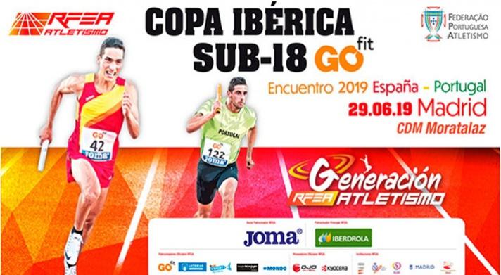 Llega la Copa Ibérica Sub18 GO fit/Arriba la Copa Ibèrica Sub18 GO fit