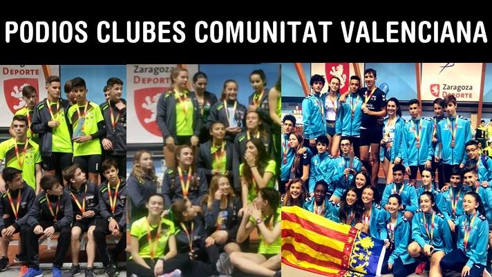 Cuatro podios en el nacional por clubes Sub16/Quatre podis en el nacional per clubs Sub16
