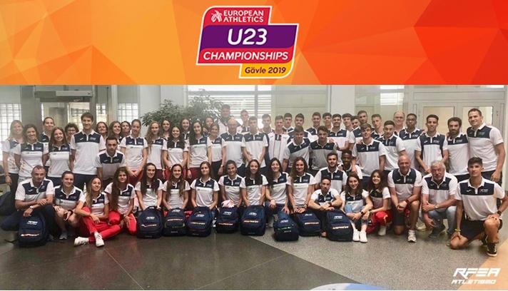 Llega el Campeonato de Europa Sub23/Arriba el Campionat d'Europa Sub23