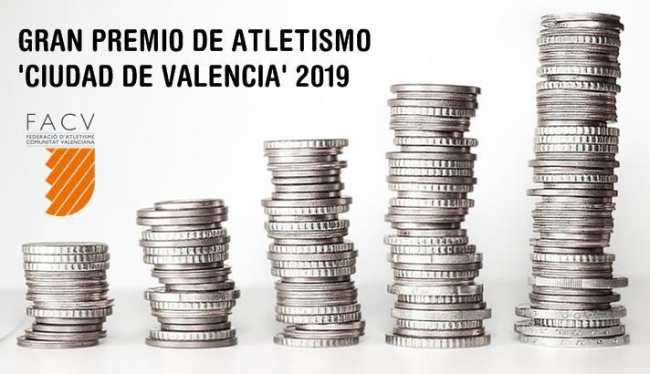 El Gran Premio Ciudad de Valencia aumenta sus premios/El Gran Premi Ciutat de València augmenta els seus premis