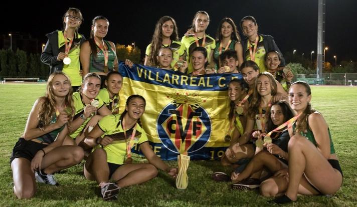 Las chicas del CA Playas de Castellón logran su octavo título sub16/Les xiques del CA Platges de Castelló aconseguixen el seu octau títol sub16