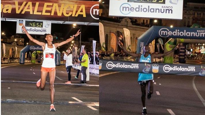 Los atletas volaron en la 15K Nocturna Valencia Banco Mediolanum/Els atletes van volar en la 15K Nocturna València Banc Mediolanum