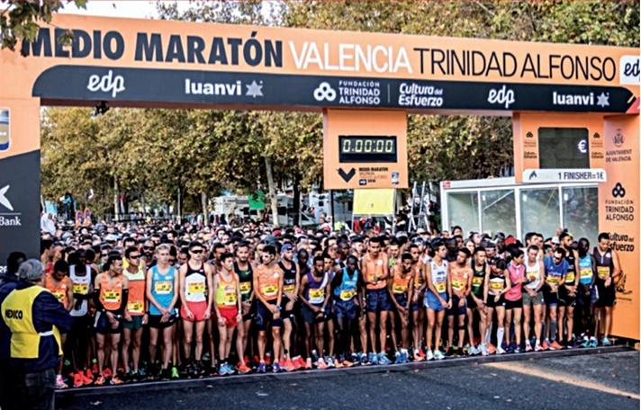 Valencia, un medio maratón de record/València, un mitja marató de rècord