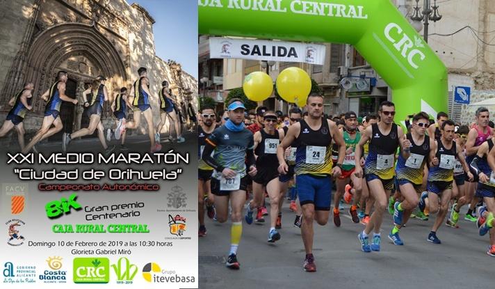 Los títulos de medio maratón se otorgan en Orihuela/Els títols de mitja marató s'atorguen a Oriola