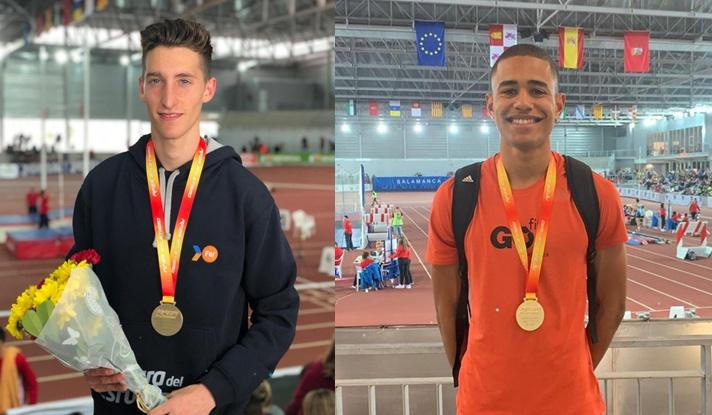 Ocho medallas en el nacional Sub23 en pista cubierta/Huit medalles en el nacional Sub23 en pista coberta