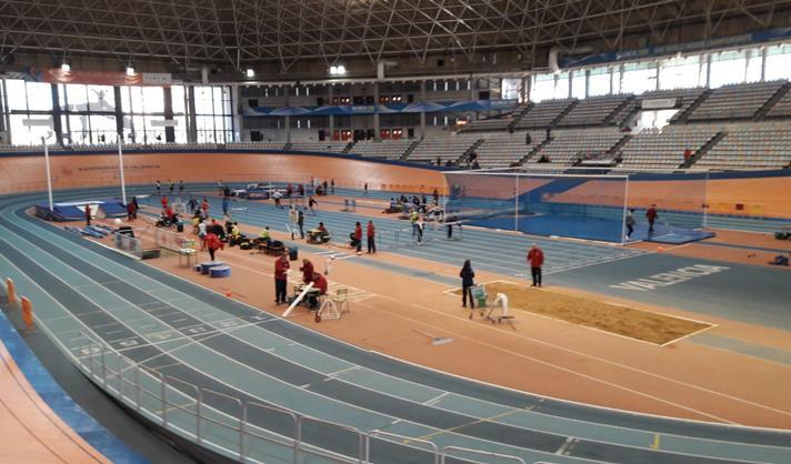 Intensa agenda atlética en las pistas del Lluís Puig /Intensa agenda atlètica en les pistes del Lluís Puig