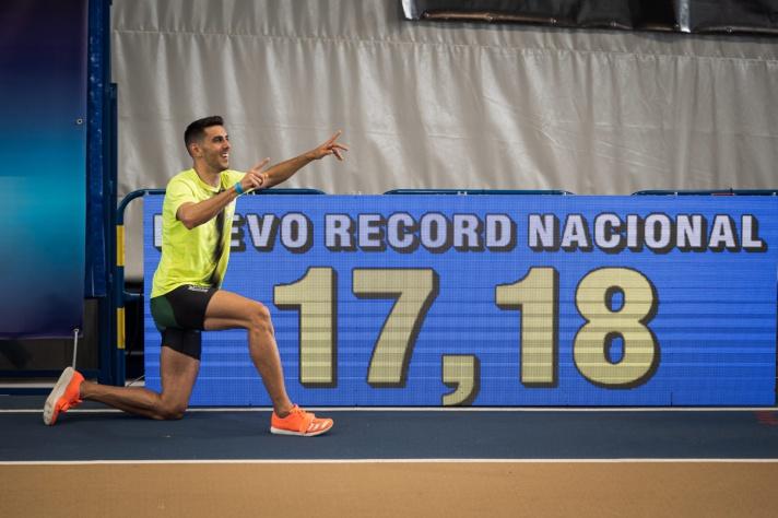 Voy a por el récord de España/Vaig pel rècord d'Espanya