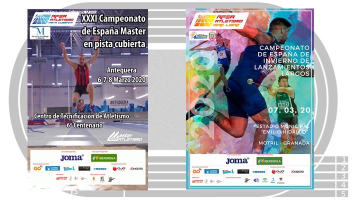 Antequera y Motril, sedes de campeonatos de España/Antequera i Motril, seus de campionats d'Espanya