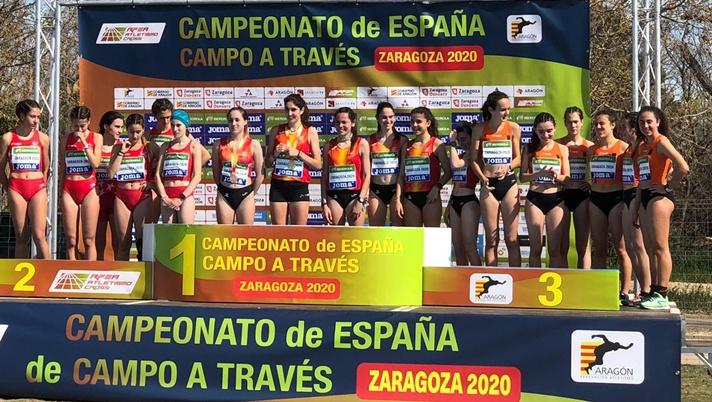 Tres podios sub20 en el nacional de campo a través /Tres podis sub20 en el nacional de camp a través