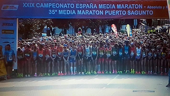La Comunitat Valenciana logra nueve podios en el nacional de medio maratón/La Comunitat Valenciana aconseguix nou podis en el nacional de mig marató