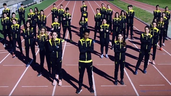 Josuer Rosero lanza un videoclip musical de atletismo/Josuer Rosero llança un videoclip musical d'atletisme