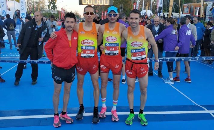 CA Cárnicas Serrano, subcampeón de España de maratón/CA Carnicas Serrano, subcampió d'Espanya de marató