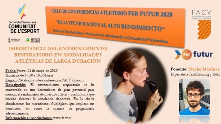 Comienza el ciclo de Conferencias Fer Futur 2020/Comença el cicle de Conferències Fer Futur 2020