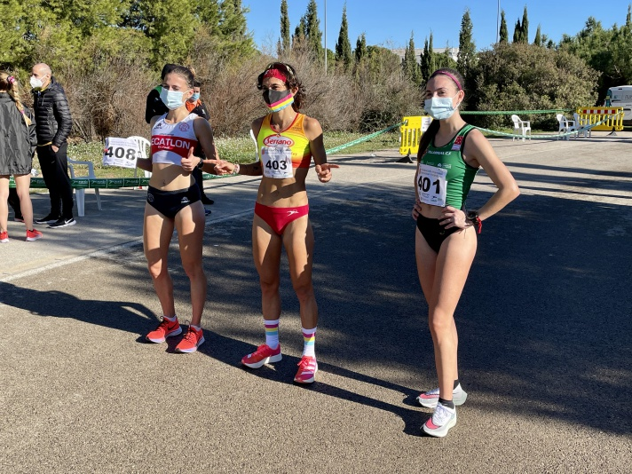 Marta Esteban y El Khayami, campeones autonómicos de 10K/Marta Esteban i El Khayami, campions autonòmics de 10K