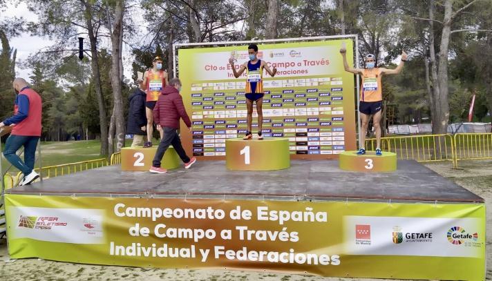 La Comunitat, medalla de bronce en el Campeonato de España de cross/La Comunitat, medalla de bronze en el Campionat d'Espanya de cross