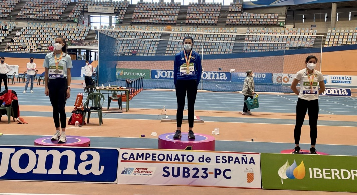 María González, subcampeona de España sub 23 /María González, subcampiona d'Espanya  sub 23