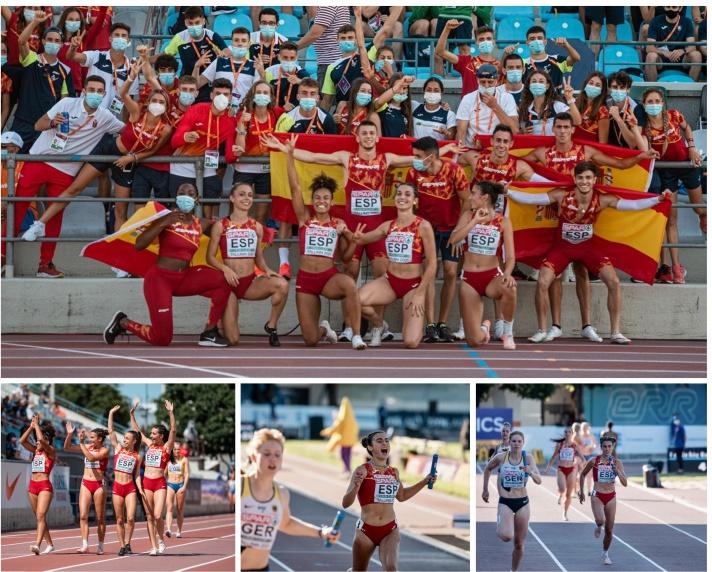Carmen Marco logra la tercera medalla para el atletismo valenciano en Tallin/Carmen Marco aconsegueix la tercera medalla per a l'atletisme valencià a Tallinn