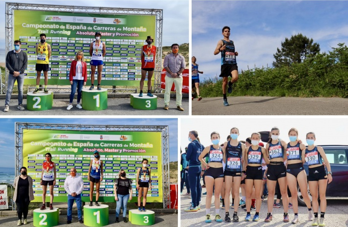 Antonio Martínez, medalla de bronce en el Campeonato de España de trail running/Antonio Martínez, medalla de bronze en el Campionat d'Espanya de trail *running