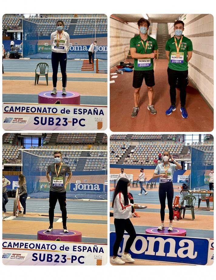 Los valencianos ganan doce medallas en el Campeonato de España sub 23 /Els valencians guanyen dotze medalles en el Campionat d'Espanya sub 23
