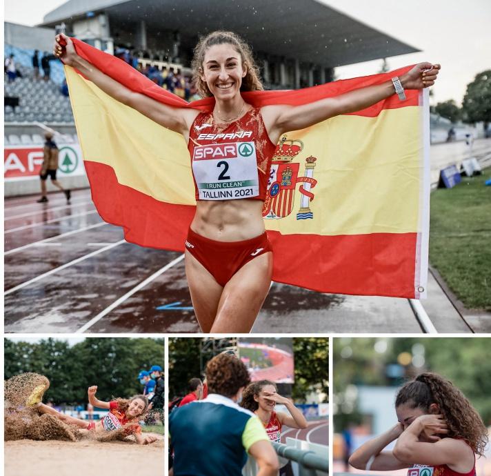 Claudia Conte, subcampeona de Europa sub23/Claudia Conte, subcampiona d'Europa sub23